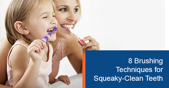 8 Best Brushing Techniques for Squeaky-Clean Teeth