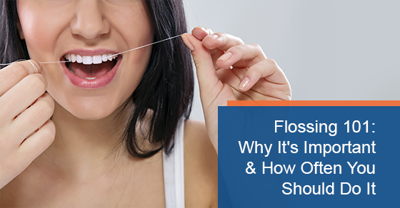 Flossing 101: Why it's important and how often you should do it
