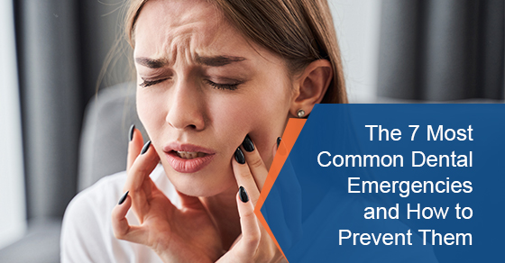 The 7 most common dental emergencies and how to prevent them